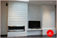 3D Wall Panels - Choppy Design - Deco Stones