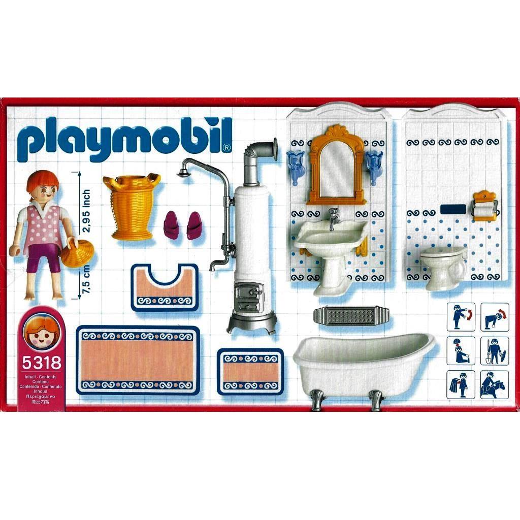 Modernes Badezimmer Playmobil