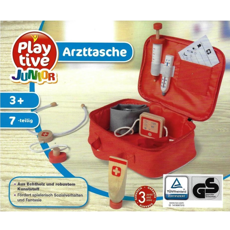 Playtive Junior Roleplaying Set Occupations Doctor 39 S