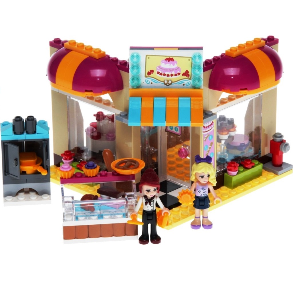 Lego Friends Badezimmer Lego Friends 41006 Heartlake Bäckerei