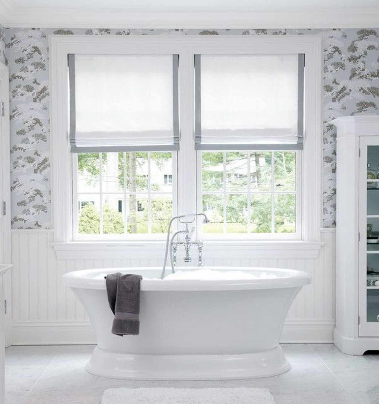 Bathroom Window Covering 9 Bathroom Window Treatment Ideas Deco Window Fashions