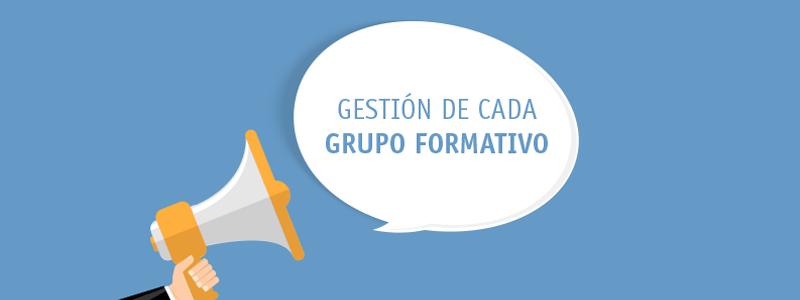 Nuevos datos a comunicar a la FUNDAE para la gestión de cada grupo formativo.