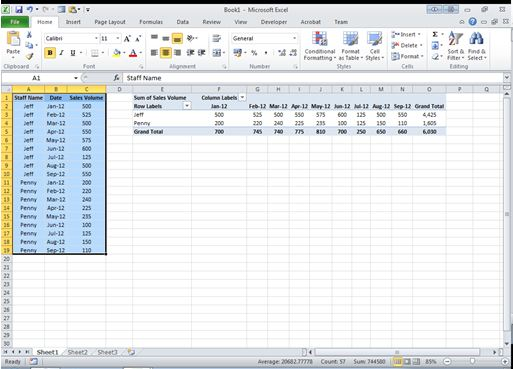 How to make an Excel PIVOT Table update automatically Dedicated Excel