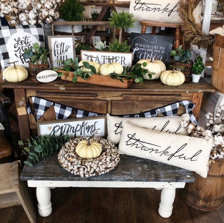 Farmhouse Coffee Shop The Hunt And The Find Where I Shop For Farmhouse Decor Dedra