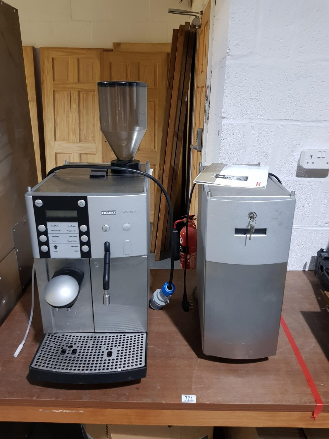 Franke Coffee Systems Franke Evolution Commercial Coffee System