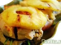 kurinaya-grudka-s-ananasami