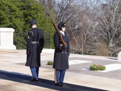 Changing of the Guard at the Grave of the Unknown Soldier