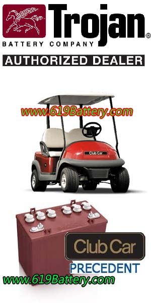 Club Car Precedent Battery Replacement - Deep Cycle Battery Store