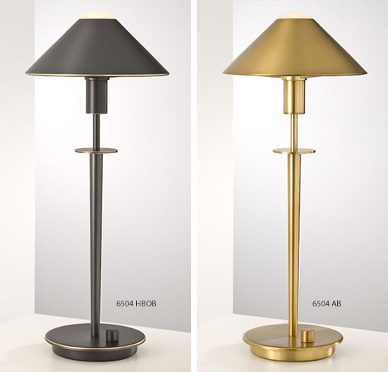 Lampenserie Holtkotter's Glass Or Metal Shade Lamp Series - Deep