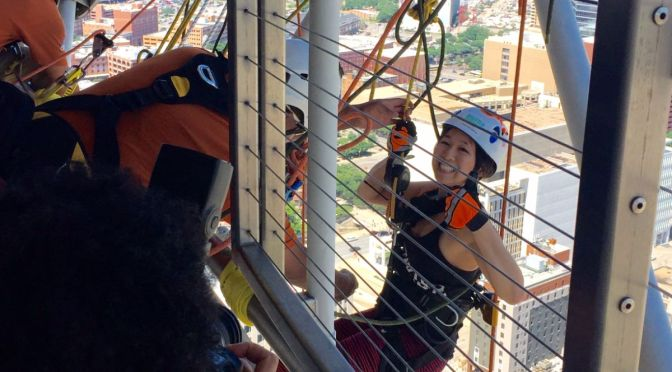 Why I Rappelled 50 Stories Down the Reunion Tower
