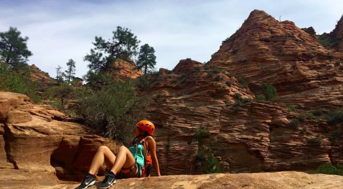 Travel Diary: Canyoning at Zion National Park