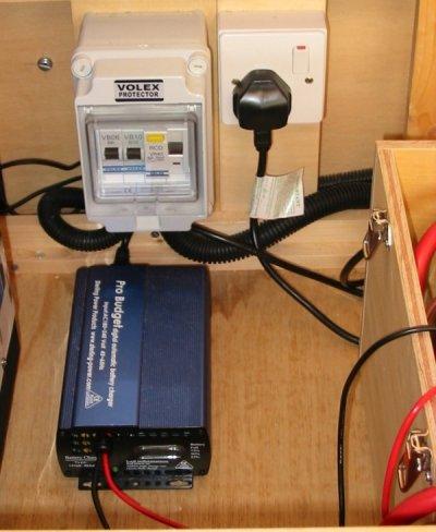 Deep Red - A self-build motorhome - electrics