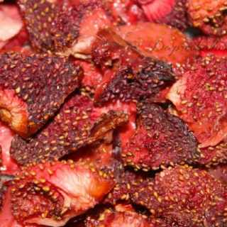 Oven-Dried Strawberries Delicious To The Moon and Back NO text
