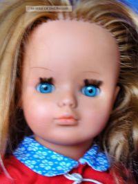 Alte 3 - M Vinyl - Puppe, Kmmbares Haar, Schlafaugen ...