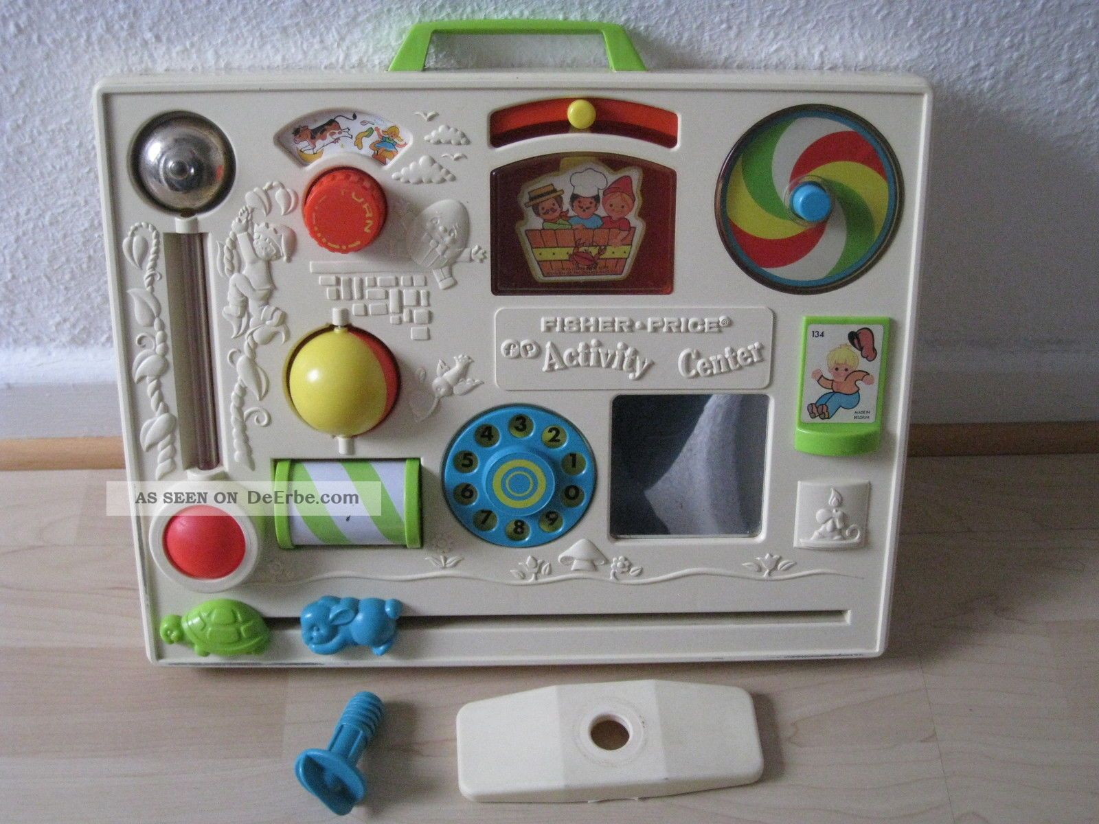 Fisher Price Küche 80er Altes Fisher Price Activity Center Nr 1134 Vintage