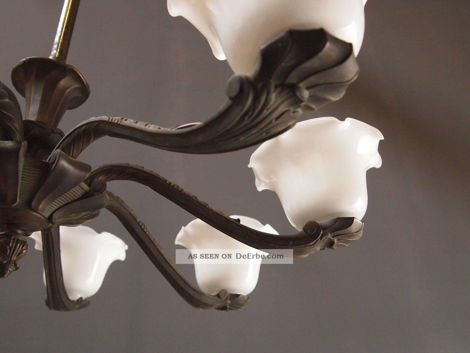 Plafoniere Deckenleuchte : Deckenlampe bronze xxl alte fl plafoniere