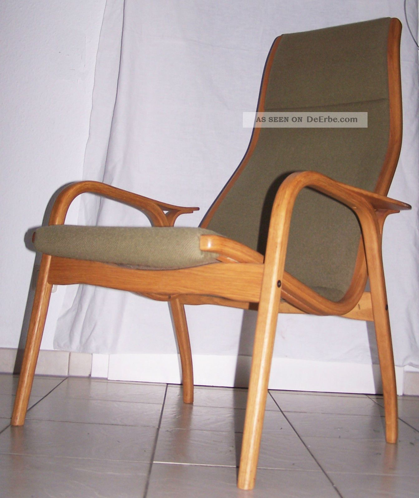 Swedese Sessel Lounge Chair Lamino Yngve EkstrÖm Swedese Sessel Oak 50er Jahre