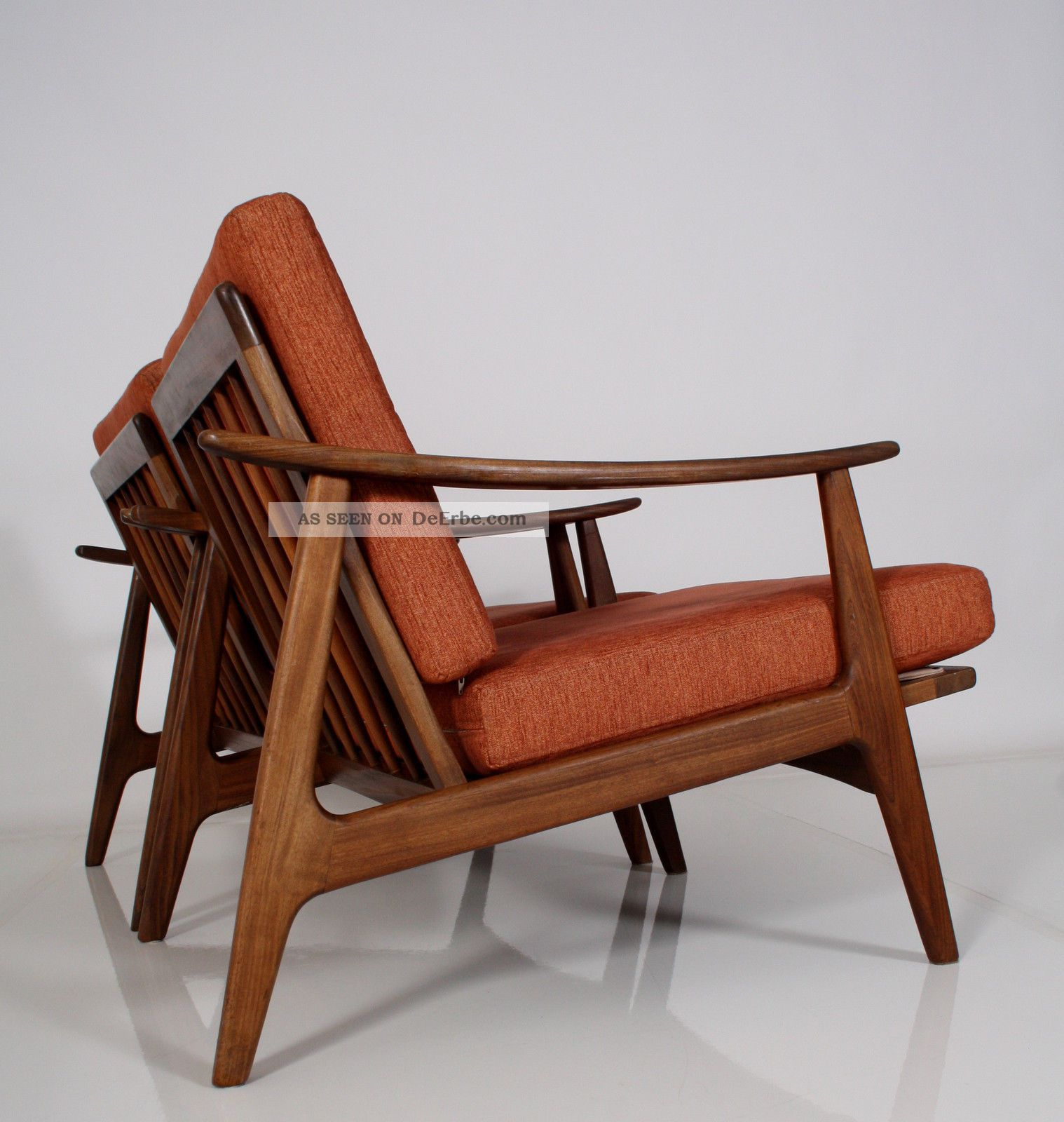 Teak Sessel Danish Stühle 60er Design