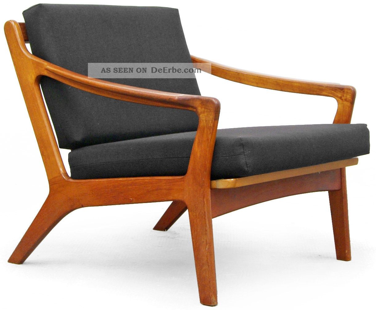 Teak Sessel Danish 2x Sessel Easy Chair 50er Teak 60er Danish Modern 50s Modernist