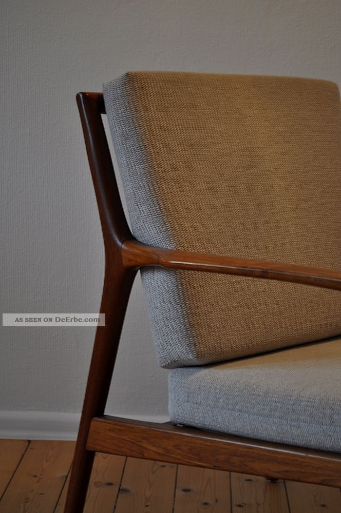 Eckregal Teak 60er 60s Teak Easy Chair Sessel Danish Design Mid Century