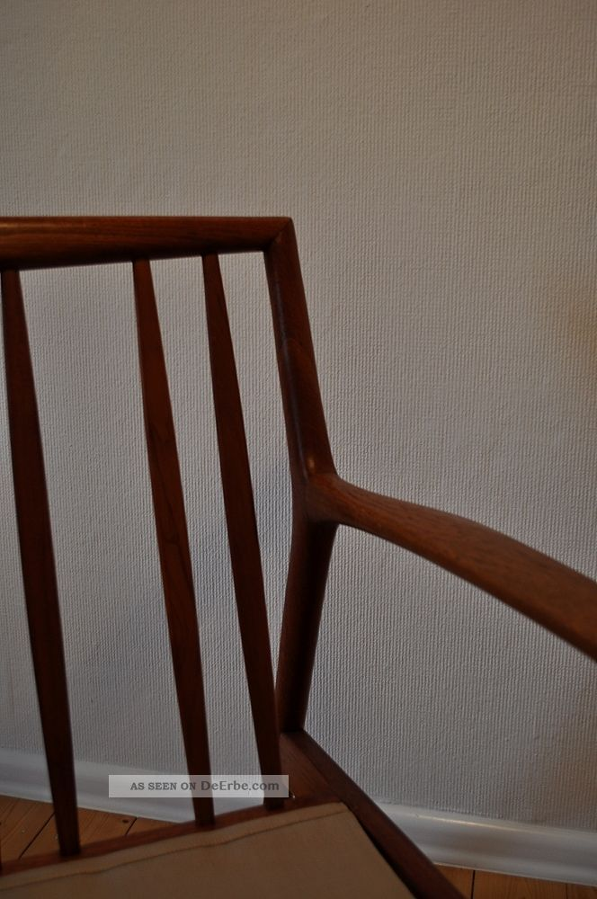 Teak Sessel Danish 60er 60s Teak Easy Chair Sessel Danish Design Mid Century