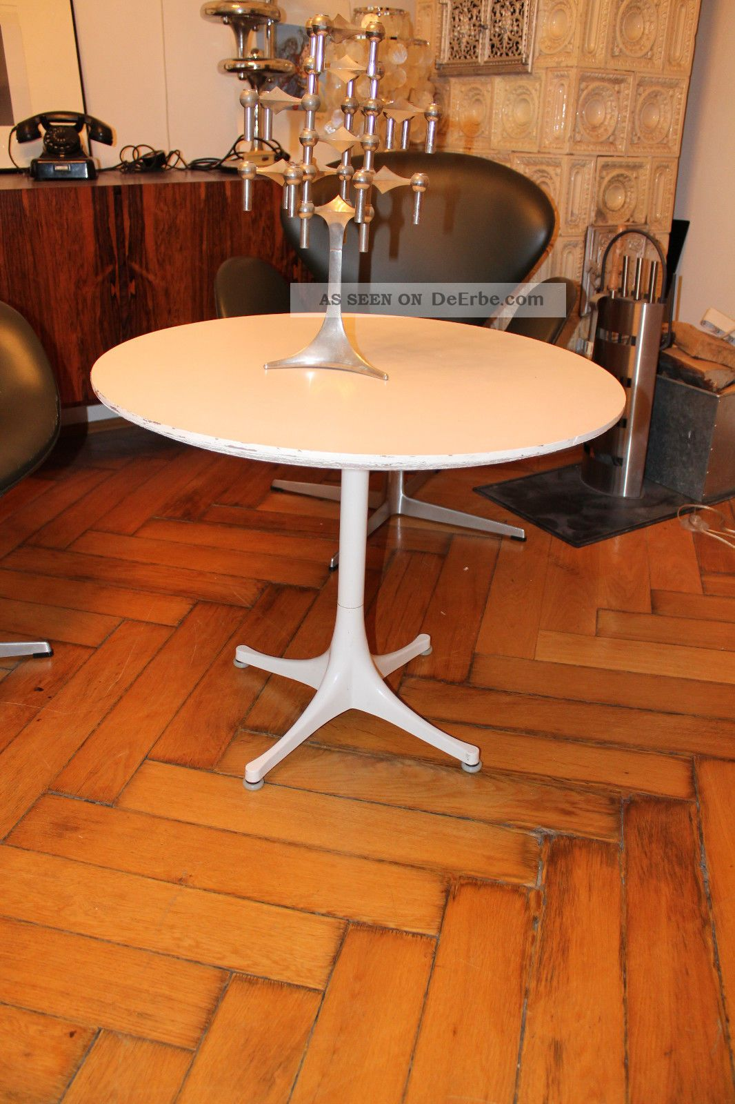 Couchtisch Danish Herman Miller Eames George Nelson Pedestal Coffee Table