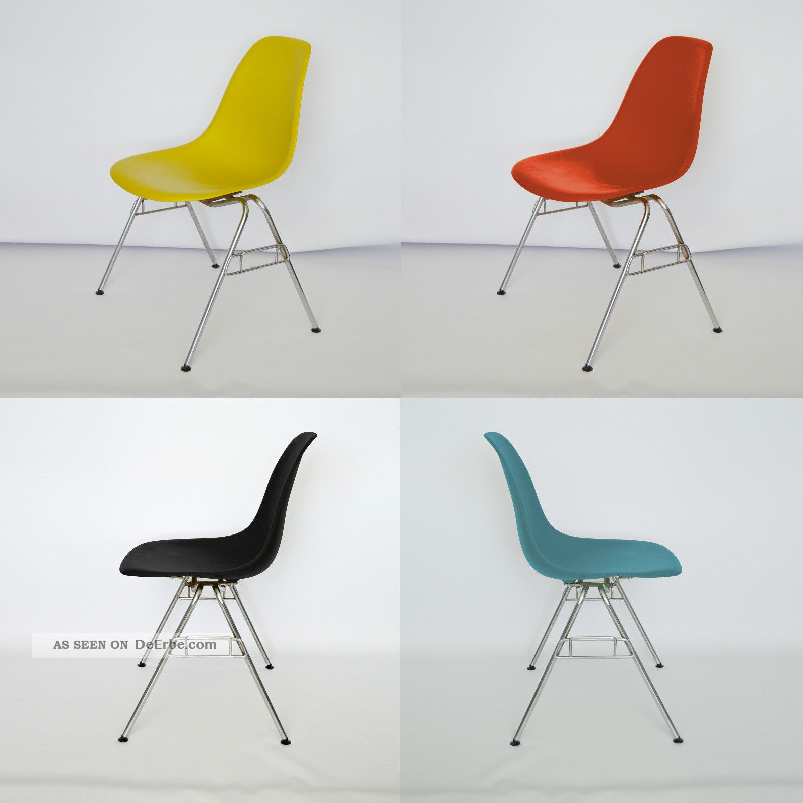 Stapelstuhl Plastik Vitra Eames Plastic Side Chair Dss Stapelbar In Vielen