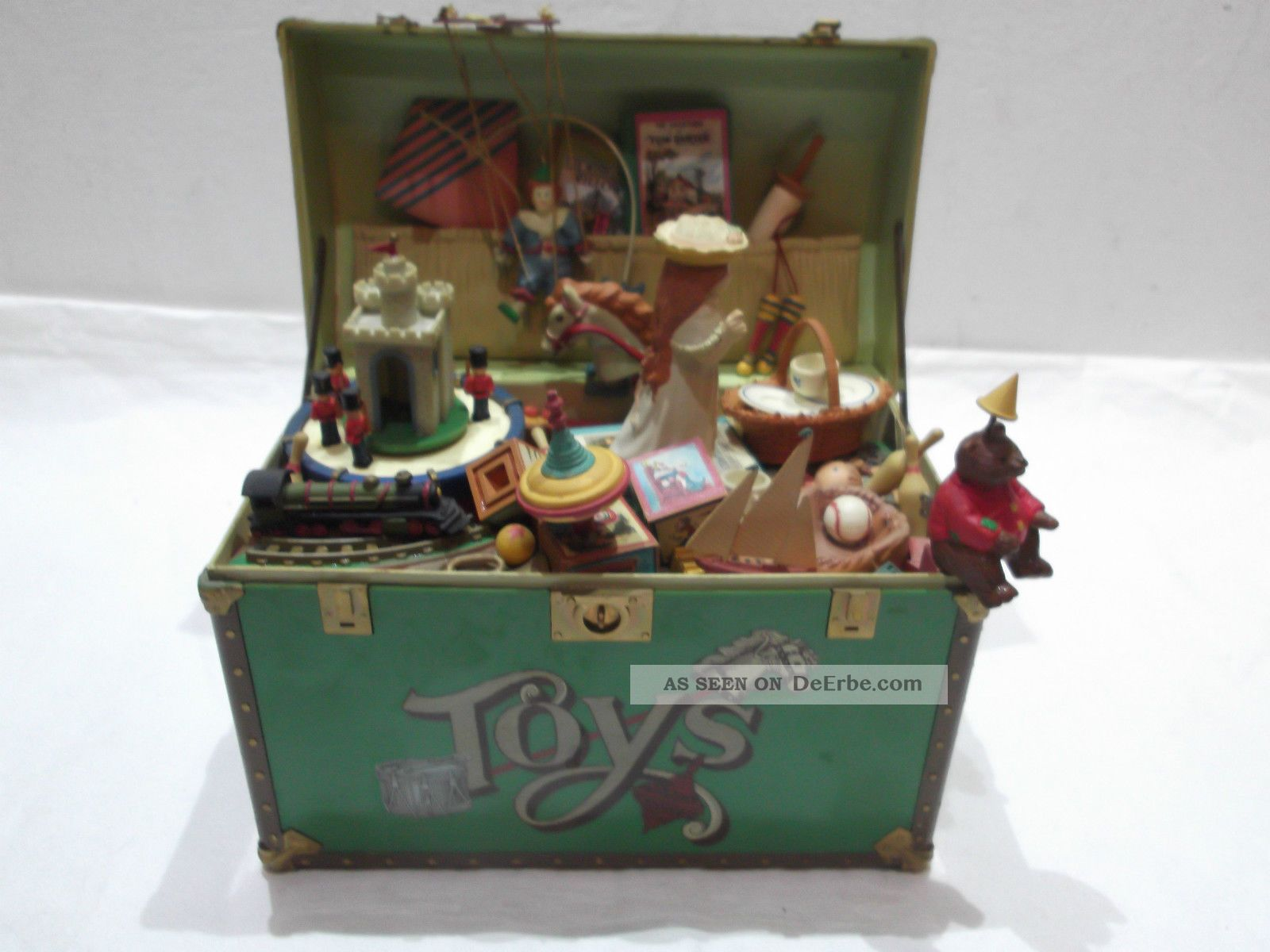 "Spielzeugkiste Holz Enesco Spieluhr Toys - "" Toy Symphony "" Musical Koffer"