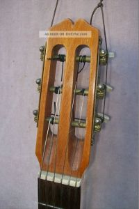 Alte, Antike Gitarre (palisanderkorpus)