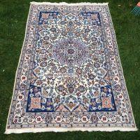 Persischer Nain Teppich. Korkwolle Mit Seide. C. A 350 ...
