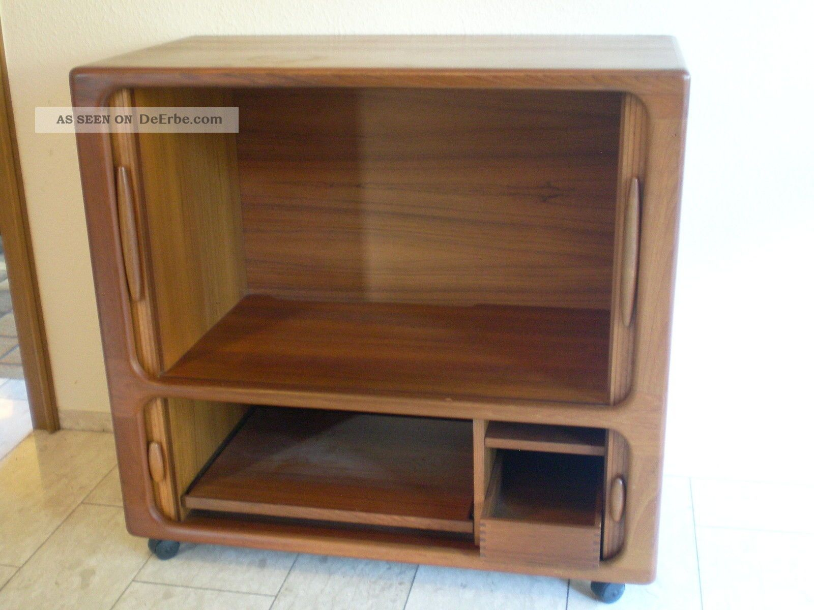 Tv Schrank Holz Danish Design 60er 70er Dyrlund Teak Holz Highboard Tv