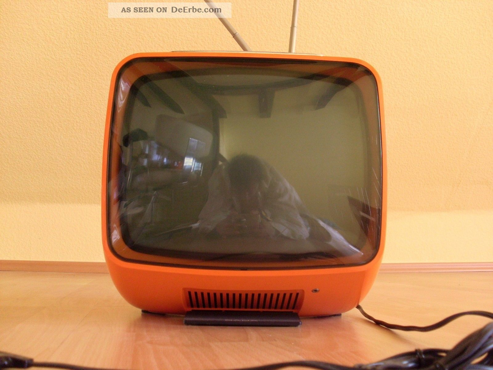 70er Jahre Design Saba 60er 70er Design Tv Panton Ära Space Age Rot Orange