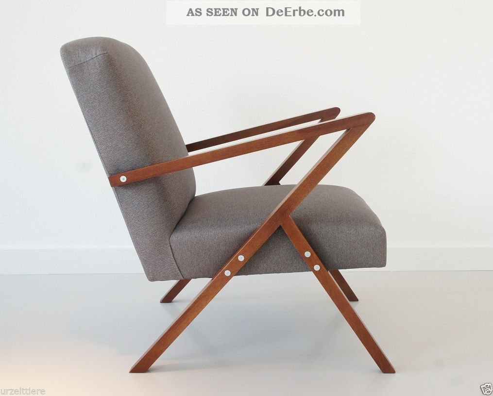 Design Tv Sessel Retro Chair Danish Design Lounge Relax Tv Sessel Mid Century