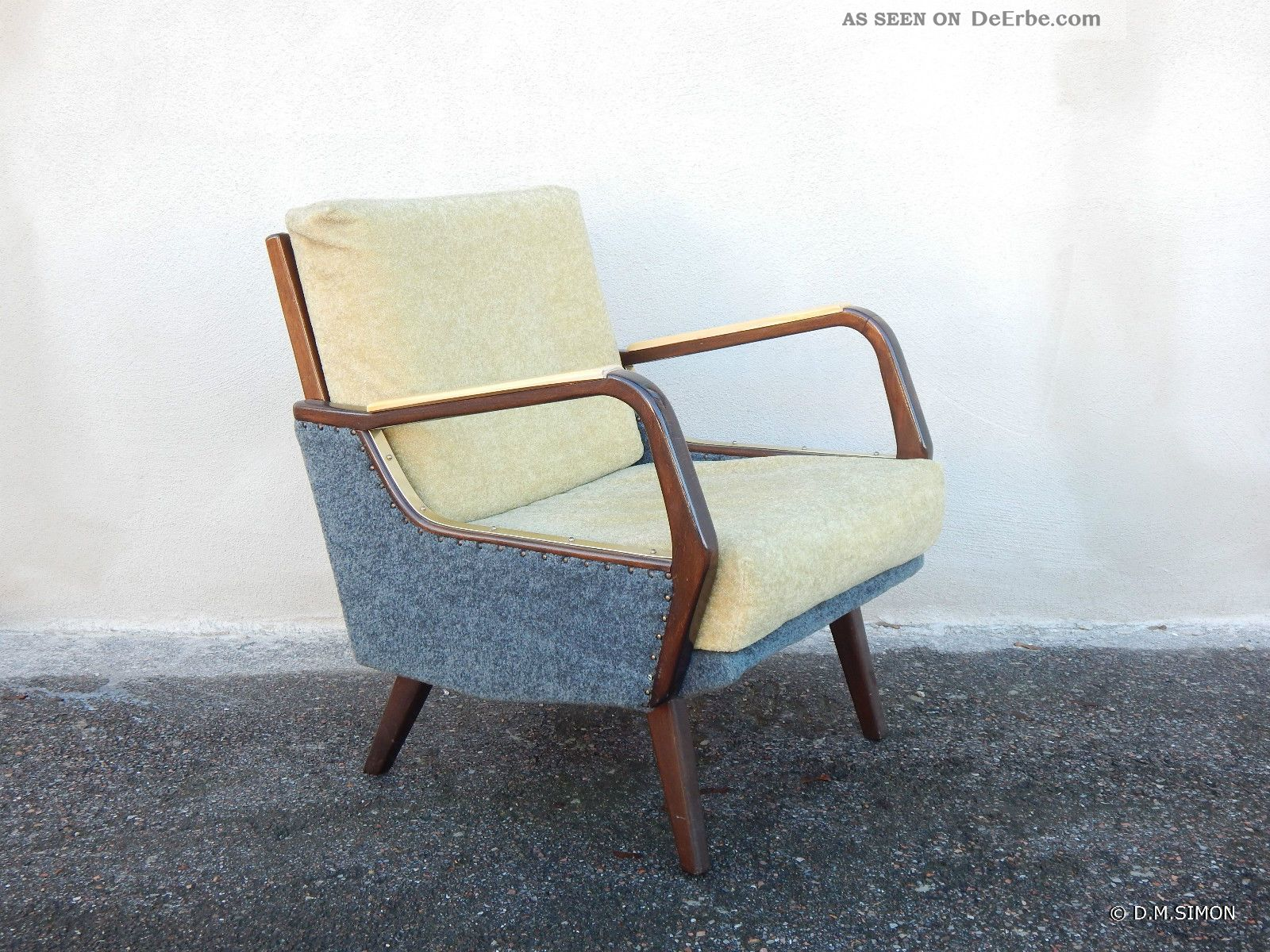 50 Er Jahre Sessel Sessel Easy Chair Lounge 50er Jahre Mid Century