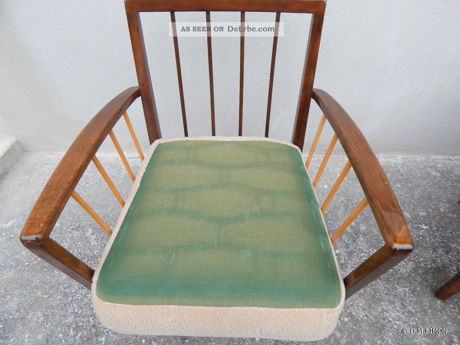 50 Er Jahre Sessel 2 Sessel Easy Chair Lounge 50er Jahre Mid Century