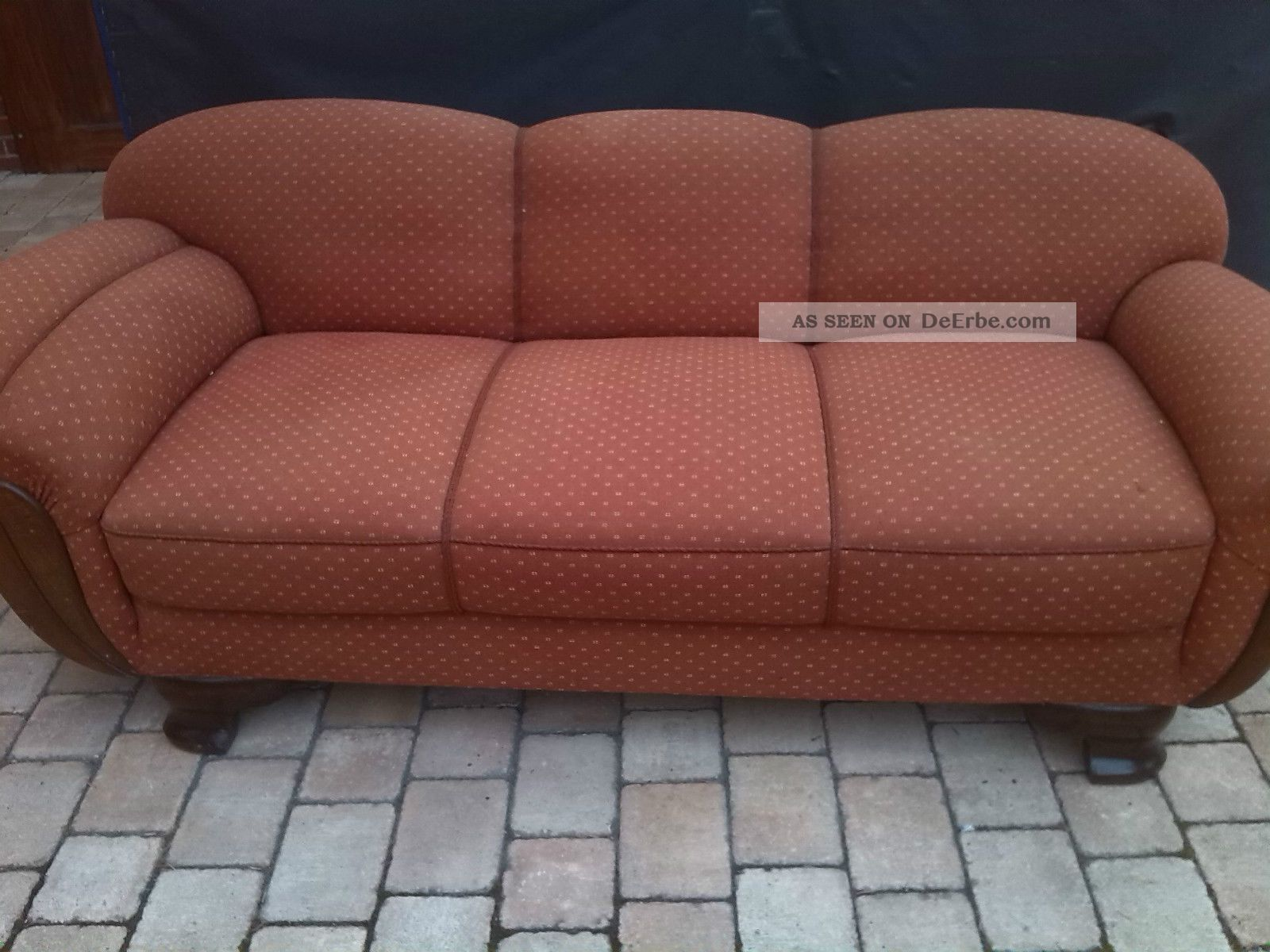 Sessel 50er Design Sofa 50er