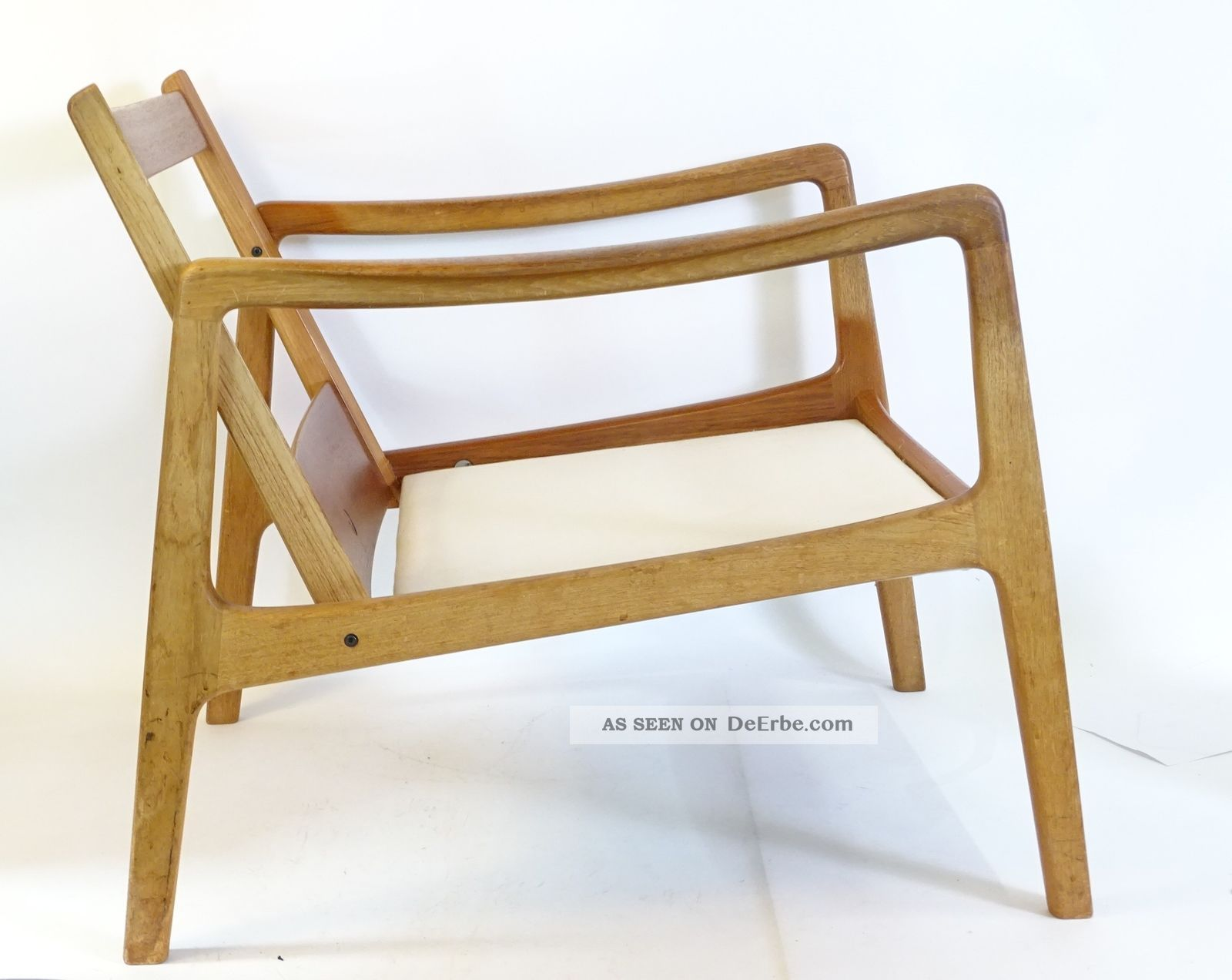 Teak Sessel True Vintage Ee Grete Jalk France Son Danish Design Teak Sessel