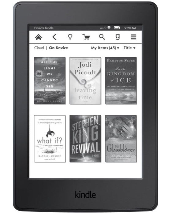Kindle E-readers - Deerfield Public Library - checkout a book