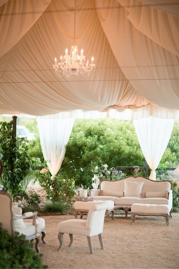 Table Bar Occasion 30 Chic Wedding Tent Decoration Ideas | Deer Pearl Flowers