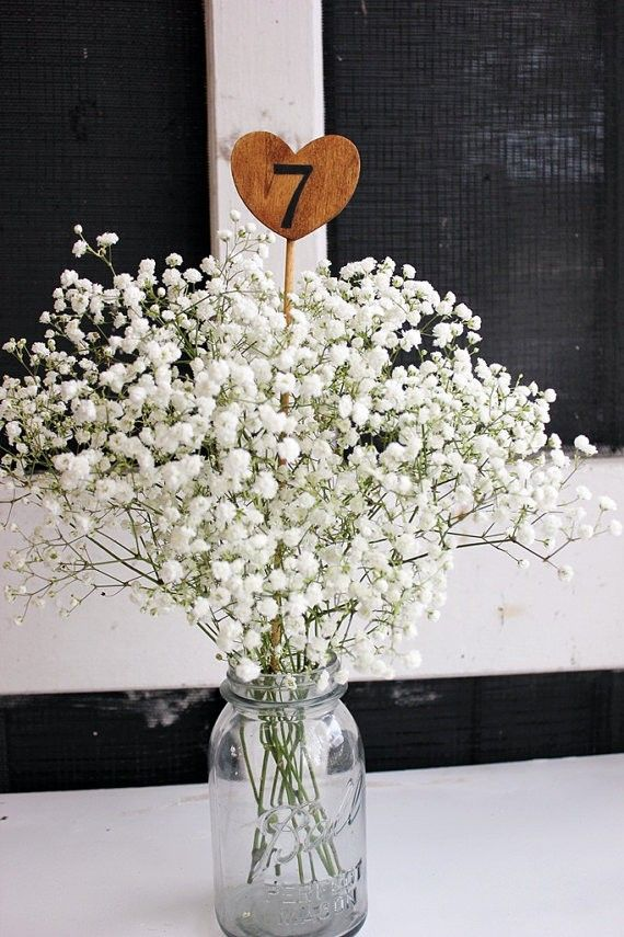 Como Hacer Centro De Mesa Con Globos 68 Baby's Breath Wedding Ideas For Rustic Weddings | Deer