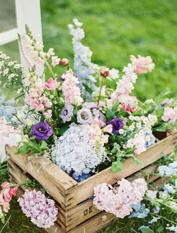 Exterieur Welcome 60 Rustic Country Wooden Crates Wedding Ideas | Deer Pearl