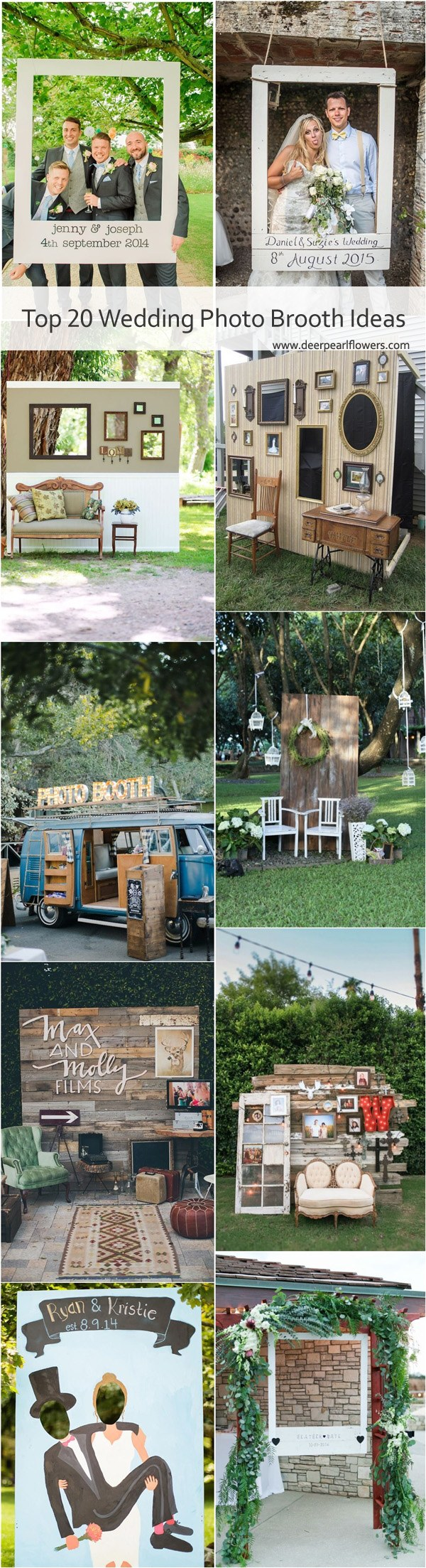 Decor Photobooth 20 Wedding Photobooth Ideas You Ll Like Deer Pearl Flowers