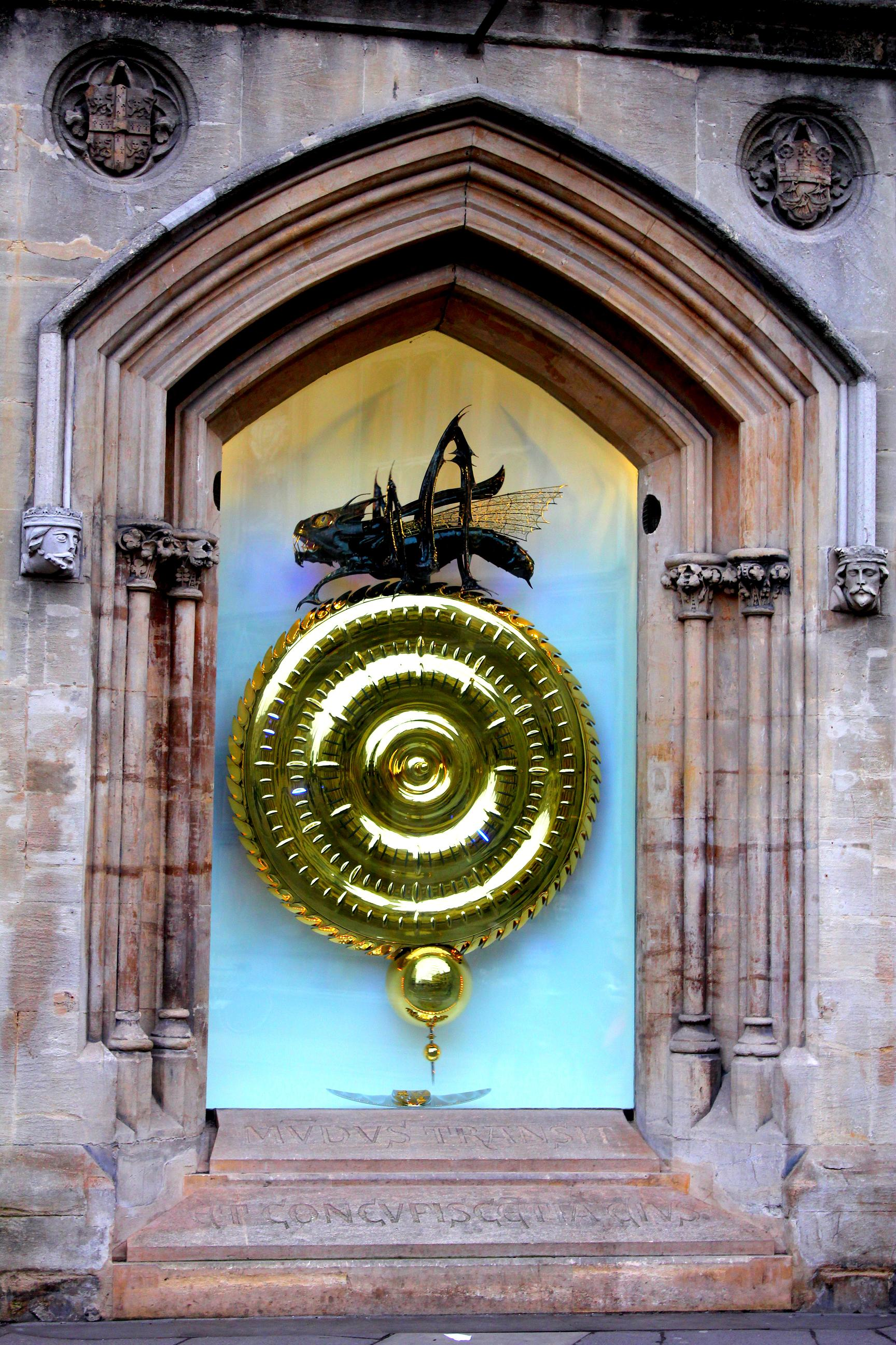 Corpus Rub The 'time-eater' Of Cambridge – Detours By Deepali