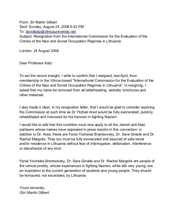 Resignation Letter Quick  Create Professional Resumes Online For