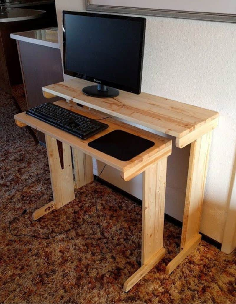 Diy Computer Desk 27 Ideas That Ll Save Your Money