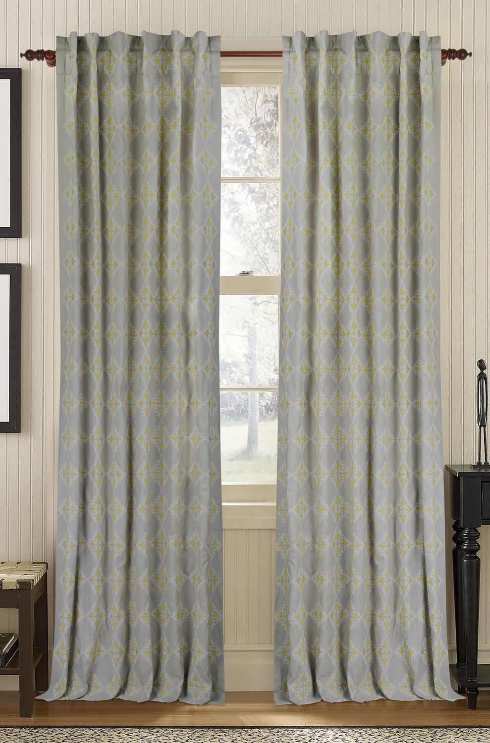 Cotton Curtain Panels Muriel Kay Exotic Linen Cotton Drapery Panel
