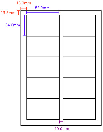 Free Card Making Templates Printable - Business Card - Website