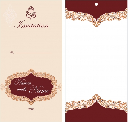 Free Printable Bridal Shower Invitation Templates - Business Card
