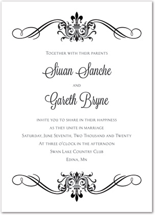 Free Printable Online Wedding Invitations Templates - Business Card