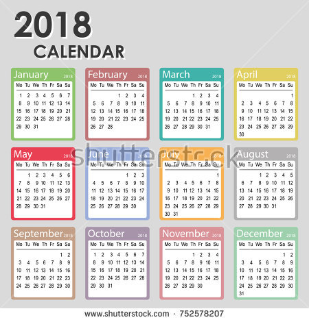 Printable Monthly Calendar Template - Business Card - Website